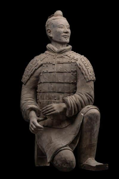 Terracotta warrior on display at the National Museum Bangkok. Source: Bangkok Post 20190913