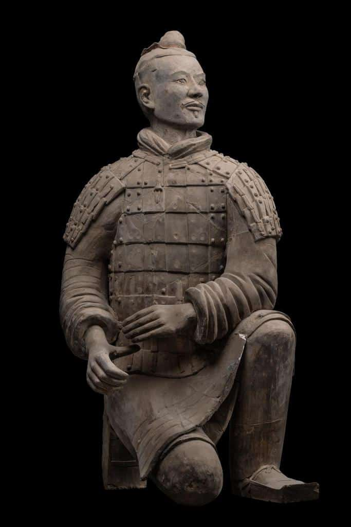 Terracotta warrior on display at the National Museum Bangkok. Source: Bangkok Post 20190913