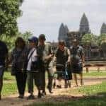 Tourist decline continues at Angkor
