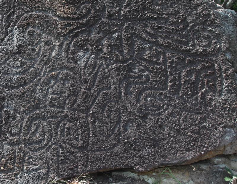 Rock carving at Cape Collinson: Source: Hong Kong Government, 20191025
