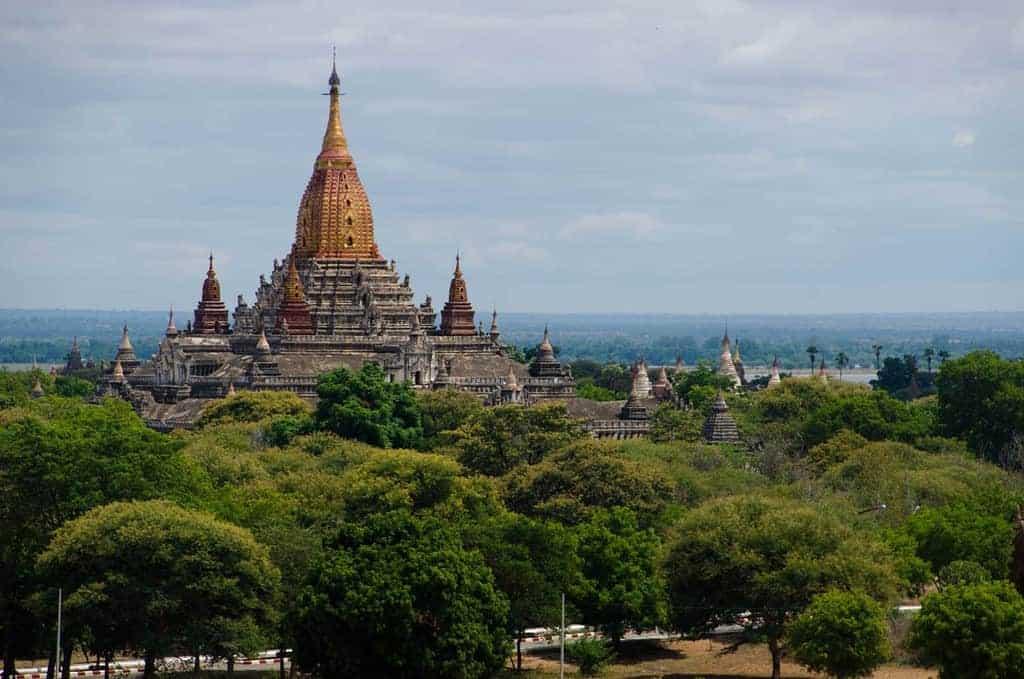Shwesandaw Paya, Bagan, Myanmar
