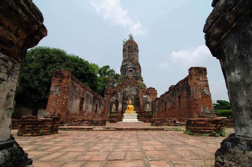 Wat Choeng Ta, Ayutthaya, Thailand