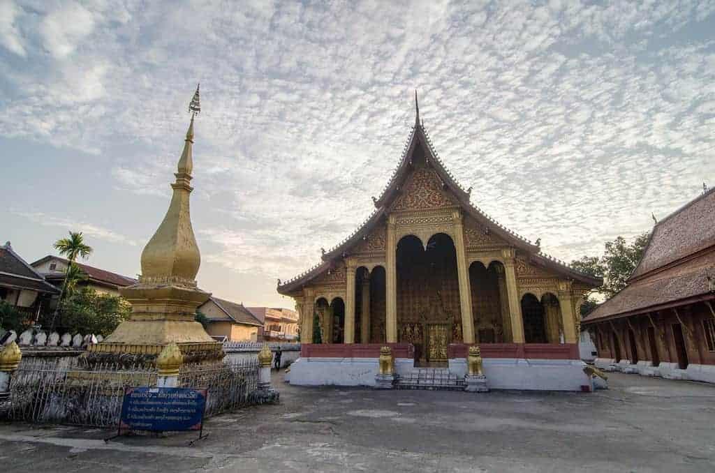 Wat Sensoukaram, Luang Prabang, Laos