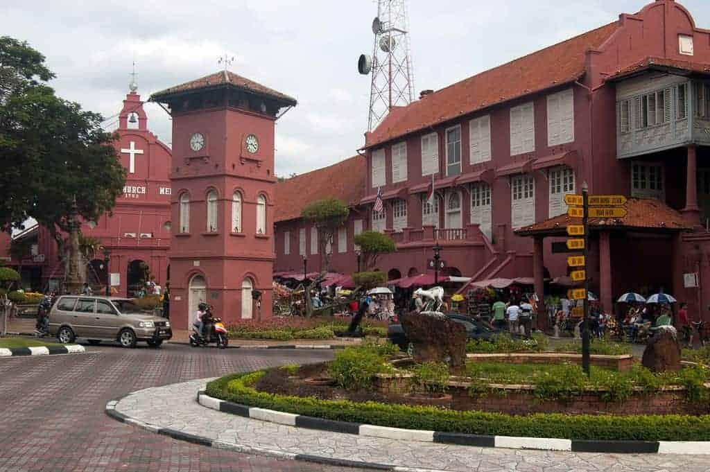 Dutch Square, Malacca, Malaysia